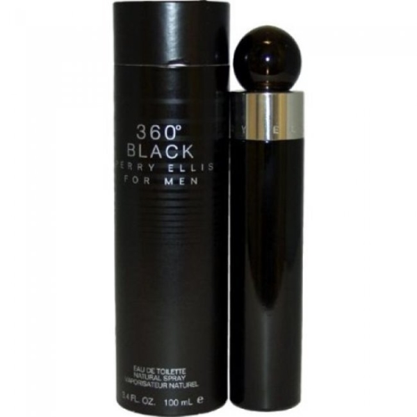 360° BLACK FOR MEN by Perry Ellis
