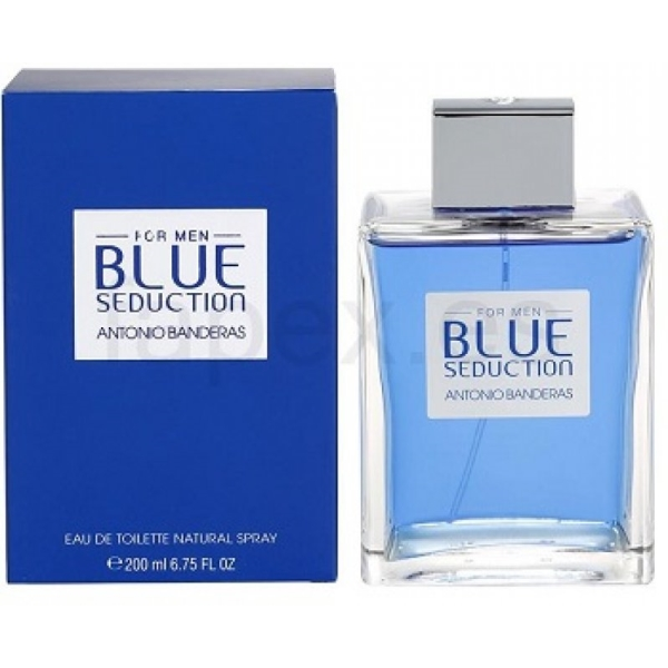 BLUE SEDUCTION FOR MEN 200ML by Antonio Banderas