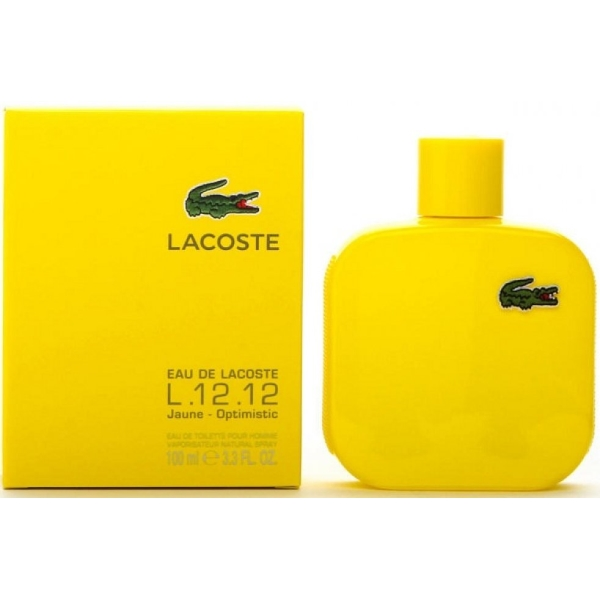 L.12.12 YELLOW JAUNE OPTIMISTIC by Lacoste